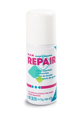 Mom Linea Repair Trattamento Locale Cicatrizzante Ferite Gel Spray 75 g