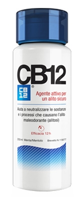 Omega Pharma CB12 Colluttorio Alitosi Effetto Immediato 250 ml