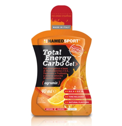 offerta Named Sport Linea Sportivi Total Energy Carbo Gel Integratore Alimentare 40 ml