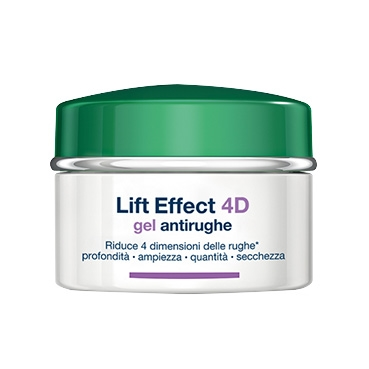 Somatoline Cosmetic Linea Lift Effect 4D Gel Antirughe Filler Antietà Viso 50 ml