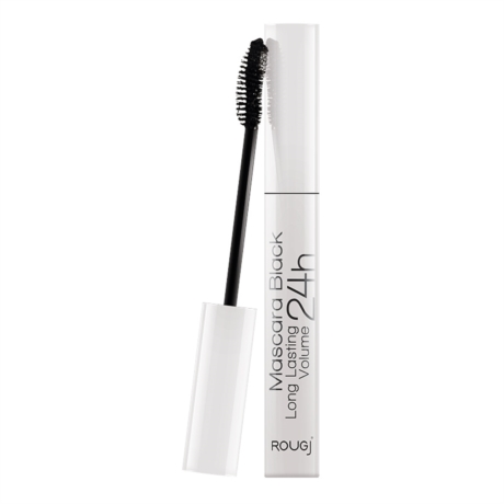 Rougj Linea Make-up Delicato Mascara 24H Long Lasting Lunga Durata 10 ml Nero
